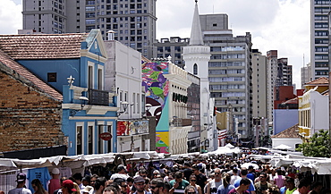Central Curitiba, state of Parana, south Brazil, South America