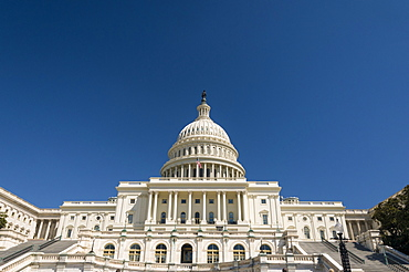 The Capitol Building, Capitol Hill, Washington, D.C., United States of America, North America