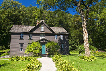 Louisa May Alcott's Orchard House where she wrote Little Women, Concord, Massachusetts, United States of America, North America