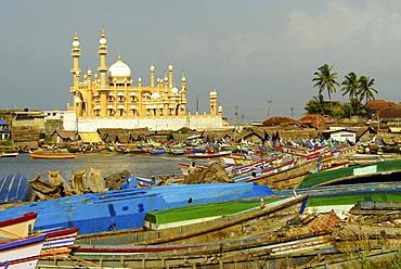 Mosque in Vizhinjam, Trivandrum, Kerala, India, Asia