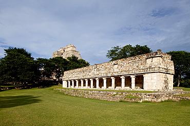 Mayan ruins of Uxmal, UNESCO World Heritage Site, Yucatan, Mexico, North America - 804-437