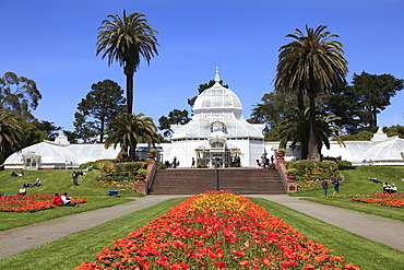Conservatory of Flowers, Golden Gate Park, San Francisco, California, United States of America, North America