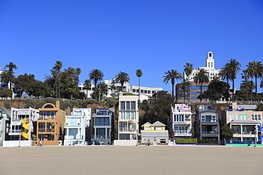 Beach Houses, Santa Monica, Los Angeles, California, United States of America, North America