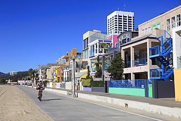 The Strand, Beach Houses, Santa Monica, Los Angeles, California, United States of America, North America