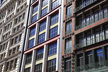 Loft Buildings, Soho, Manhattan, New York City, United States of America, North America