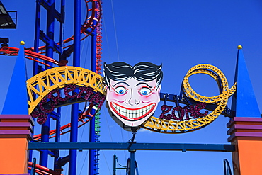 Luna Park, Amusement Park, Coney Island, Brooklyn, New York City, United States of America, North America