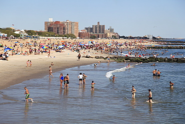 Beach, Coney Island, Brooklyn, New York City, United States of America, North America