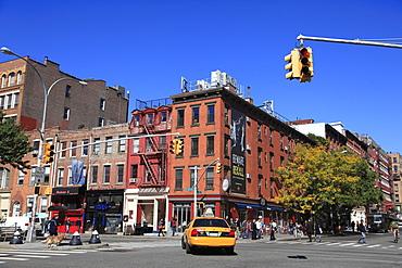 Houston Street, Greenwich Village, Manhattan, New York City, United States of America, North America