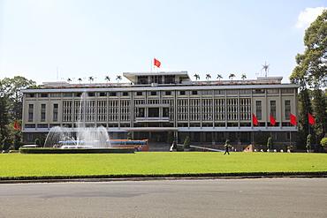 Reunification Palace, Ho Chi Minh City (Saigon), Vietnam, Indochina, Southeast Asia, Asia