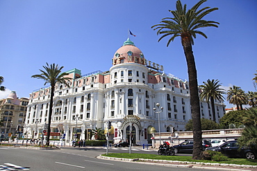 Hotel Negresco, Promenade des Anglais, Nice, Cote d'Azur, Alpes Maritimes, Provence, French Riviera, France, Europe