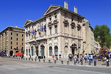 City Hall, Vieux Port (Old Port), Marseille, Bouches du Rhone, Provence Alpes Cote d'Azur, Provence, France, Europe