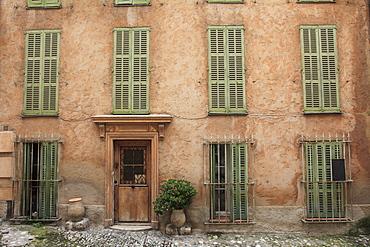Haut de Cagnes, Medieval Village, Cagnes sur Mer, Alpes Maritimes, Cote d'Azur, French Riviera, Provence, France, Europe