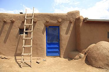 Taos Pueblo, UNESCO World Heritage Site, Taos, New Mexico, United States of America, North America - 807-1661