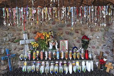 Shrine, Santuario de Chimayo, Lourdes of America, Church, Religious Pilgrimage Site, Chimayo, New Mexico, United States of America, North America