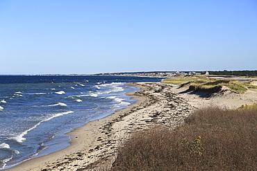 Town Neck Beach, Cape Cod Bay, Sandwich, Cape Cod, Massachusetts, New England, United States of America, North America