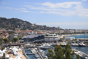 Harbor, Cannes, Alpes Maritimes, Cote d'Azur, Provence, French Riviera, France, Mediterranean, Europe
