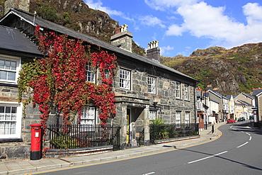 Blaenau Ffestiniog, Historic Welsh Slate Mining Town, Gwynedd, North Wales, Wales, United Kingdom, Europe