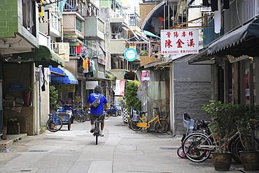 Cheung Chau Island, Village, Hong Kong, China, Asia