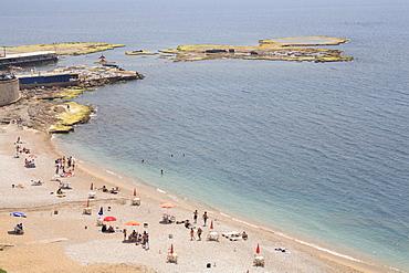 Beach, Byblos, Jbail, Lebanon, Middle East