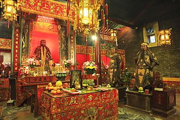 Pak Tai Temple, built in 1863, Wan Chai, Hong Kong Island, Hong Kong, China, Asia