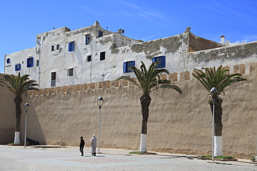 Old City Wall, Essaouira, UNESCO World Heritage Site, Morocco, North Africa, Africa