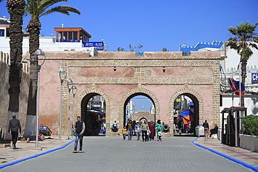 Old City Gate, Essaouira, UNESCO World Heritage Site, Morocco, North Africa, Africa