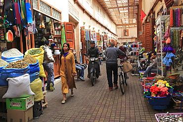 Market, Souk, Mellah (Old Jewish Quarter), Marrakesh (Marrakech), Morocco, North Africa, Africa