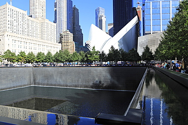 National September 11, 9/11 Memorial, Oculus, World Trade Center, Financial District, Manhattan, New York City, United States of America, North America