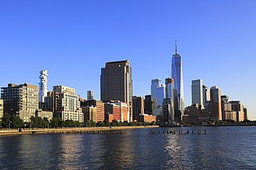 One World Trade Center, Financial District, Lower Manhattan, Hudson River, New York City, United States of America, North America