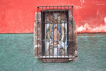 Window, San Miguel de Allende, Mexico, North America