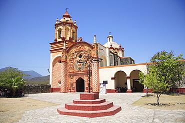 Conca Mission, UNESCO World Heritage Site (designed by Franciscan Fray Junipero Serra), Arroyo Seco, Queretaro, Mexico