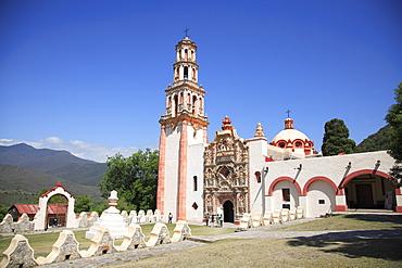 Tilaco Mission, UNESCO World Heritage Site (designed by Franciscan Fray Junipero Serra), Queretaro, Mexico