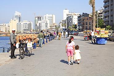 Corniche, Beirut, Lebanon, Middle East