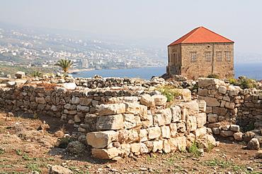 Ancient ruins, Byblos, UNESCO World Heritage Site, Jbail, Lebanon, Middle East