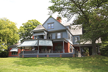 Sagamore Hill, home of  President Theodore Roosevelt,  National Park, Oyster Bay, Long Island, New York, United States of America, North America