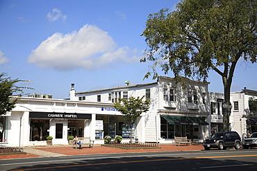 Main Street, East Hampton, The Hamptons, Long Island, New York, United States of America, North America