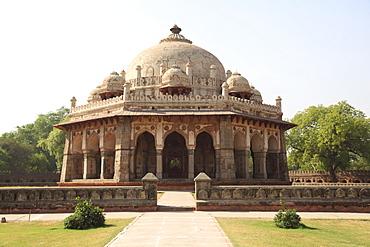 Isa Khan Niyazi Tomb, part of  the Humayun's Tomb Complex, Delhi, India, Asia