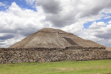 Pyramid of the Sun, Teotihuacan, Archaeological site, UNESCO World Heritage Site, Mexico, North America