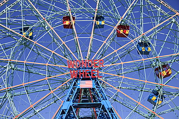 Wonder Wheel, Coney Island, Brooklyn, New York City, United States of America, North America