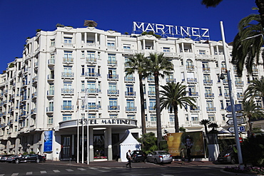 Hotel Martinez, Cannes, Alpes Maritimes, Provence, Cote d'Azur, France, Europe