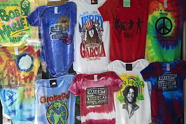 T-shirts, Haight Street, Haight Ashbury District, The Haight, San Francisco, California, United States of America, North America