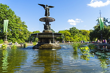 Bethesda Fountain, Central Park, Manhattan, New York City, New York, United States of America, North America