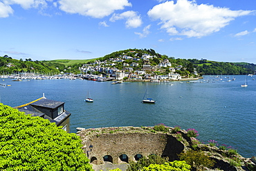 Bayard's Cove Fort, Dartmouth, Devon, England, UK