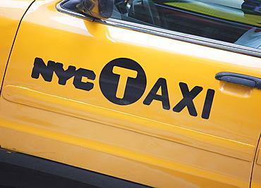 New York Taxi, New York City, New York, United States of America, North America
