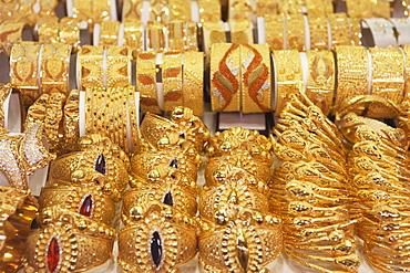 The Gold Souk, Deira, Dubai, United Arab Emirates, Middle East