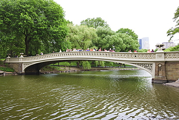 Bow Bridge, Central Park, Manhattan, New York City, New York, United States of America, North America