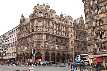 Jenners department store, Princes Street, Edinburgh, Scotland, United Kingdom, Europe