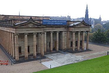 National Gallery of Scotland, The Mound, Edinburgh, Scotland, United Kingdom, Europe