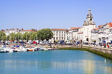 Vieux Port, the old harbour, La Rochelle, Charente-Maritime, France, Europe
