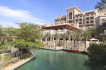 Al Qasr Hotel, part of the Madinat Jumeirah Hotel, Jumeirah Beach, Dubai, United Arab Emirates